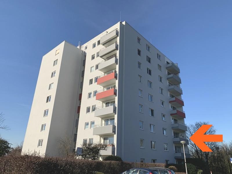 Solide Eigentumswohnung – 2.OG links vorne mit Balkon & Aufzug, Stellplatzfläche am Haus ohne Garage in Viersen-Dülken, 41747 Viersen, Etagenwohnung