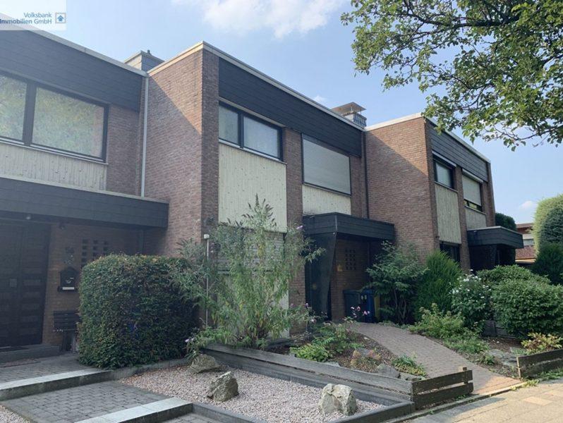 VIE-Süchteln: Solides Reihenmittelhaus mit kleinem Westgarten und Garage in gewachsenem Wohngebiet, 41749 Viersen, Reihenmittelhaus