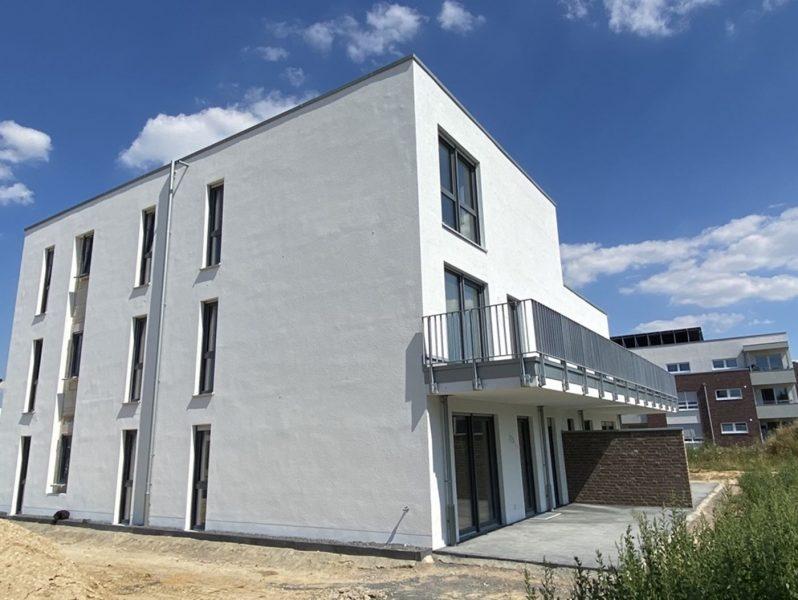 Neubau Fertigstellung Mitte 2020: geräumige 3-Zi-OG-ETW in Viersen-Dülken / Aufzug / Super Ausblick, 41751 Viersen, Etagenwohnung