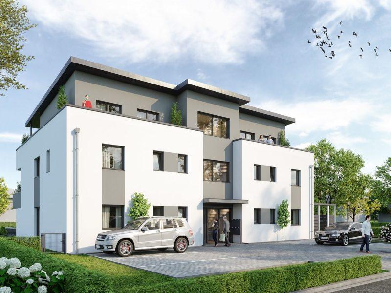 Exklusive Eigentumswohnungen – Neubau – in Schwalmtal-Burghof., 41366 Schwalmtal, Etagenwohnung