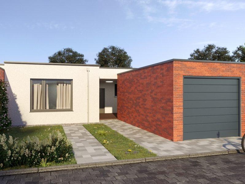 Schicker Bungalow in exklusivem Wohngebiet mit Garage und kleinem Garten in Viersen-Dülken., 41751 Viersen, Einfamilienhaus