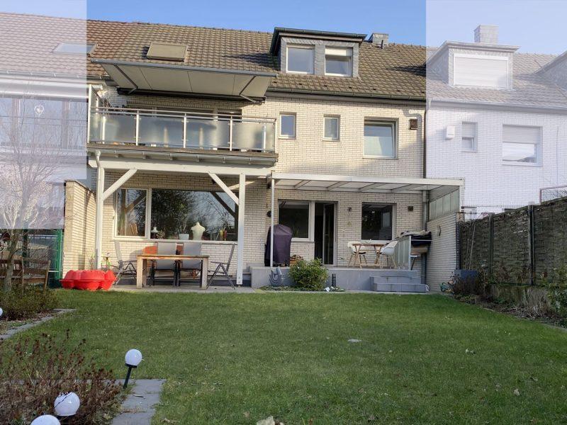 Schönes Stadthaus mit Garage als großes Wohnhaus oder mit bis zu 3 Wohneinheiten, 41747 Viersen, Reihenmittelhaus