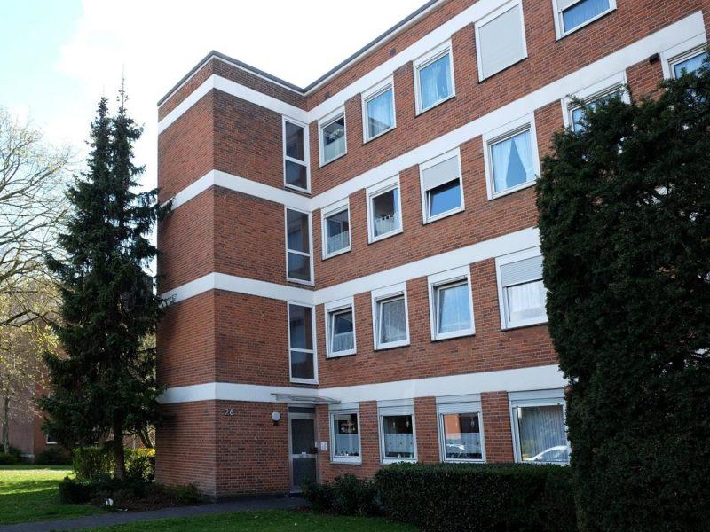 Dülken: Sonnige 3-Zimmer Eigentumswohnung mit Loggia im 1.Obergeschoss, Feldrandlage, 41751 Viersen, Etagenwohnung